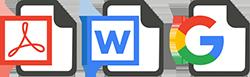 convert PDF or Word docs into procedure templates